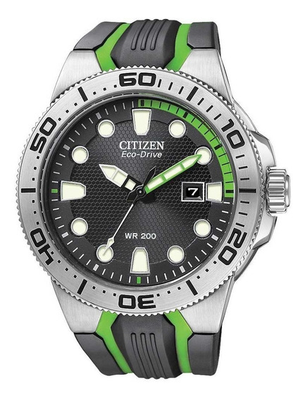 Relógio Citizen Eco-drive Scuba Fins Bn0090-01e