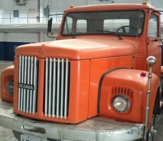 Scania 111 Cabininha (1977) Segundo Dono