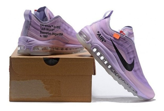 Nike Air Max 97 Og X Off White Purple White Black 65$