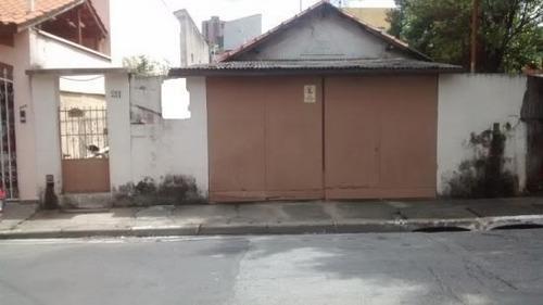 Terreno À Venda, 500 M² Por R$ 900.000,00 - Chácara Belenzinho - São Paulo/sp - Te0278