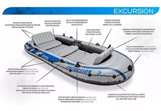 Bote Inflable Intex Excursion 5