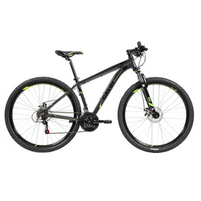 Bicicleta Adulto Mountain Bike 21 Marchas Shimano Cinza