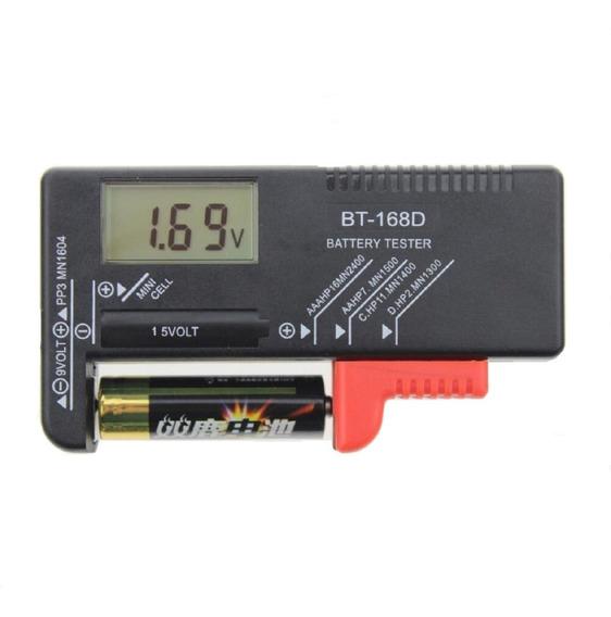 Medidor Digital Carga Pilha Aa Aaa Bateria 9vtestador Teste