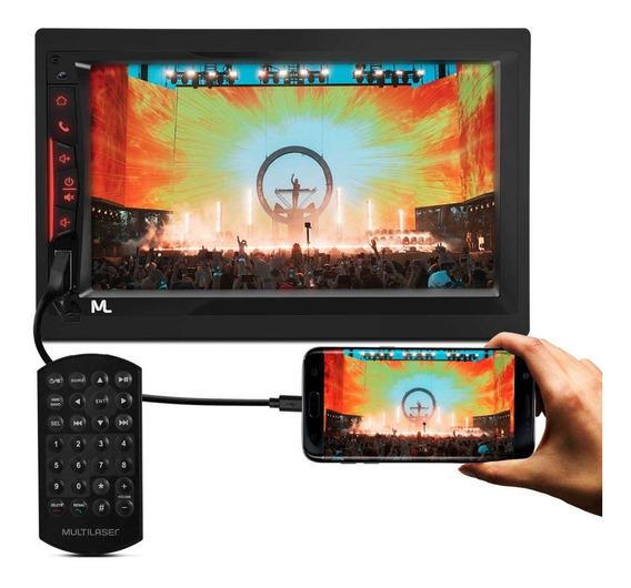 Central Multimídia Evolve Link Gp338 Bt Espelha Android Ios