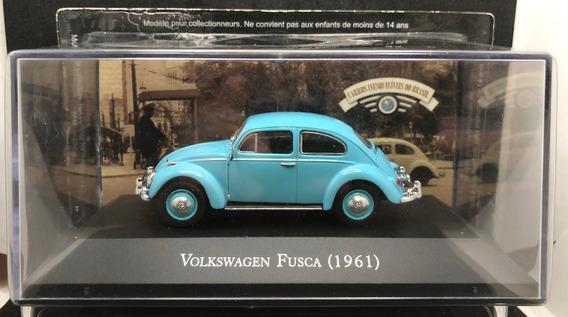 Volkswagen Fusca 1961 1/43 Ixo + Fascículo