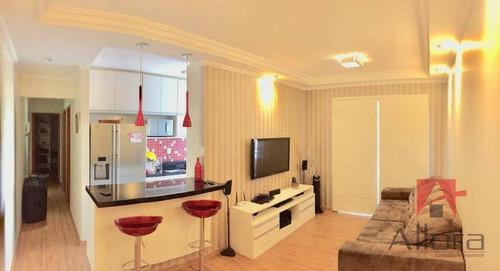 Belo Apartamento Com 2 Dormitórios À Venda,por R$ 260.000 - Condomínio Colinas Da Mantiqueira - Bragança Paulista/sp - Ap1050