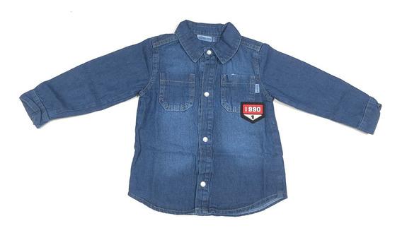 Camisa De Jean Bebe (fch220140)
