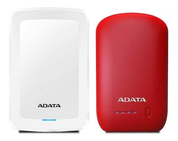 Adata Combo Disco Duro Externo 1tb 3.0 Power Bank P1005 /a