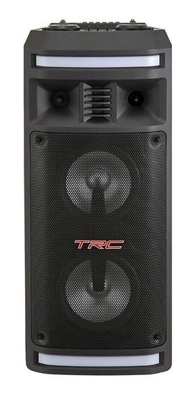Caixa De Som Portátil Trc 335 Bluetooth 200w Amplificada Led
