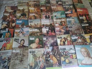 Maestros De La Pintura Lote De 48 Revistas