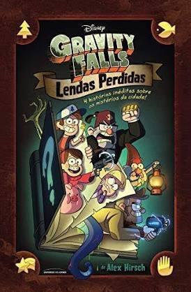 Livro Lendas Perdidas Gravity Falls