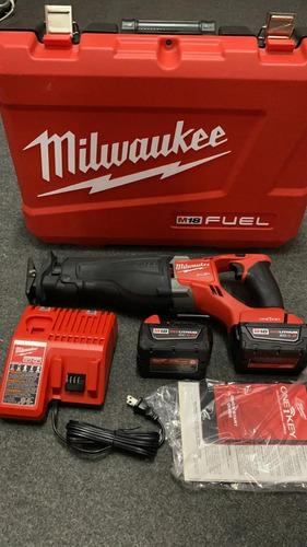 Serra Eletrica Portatil Milwaukee Sawzall M18 Sem Fio Kit