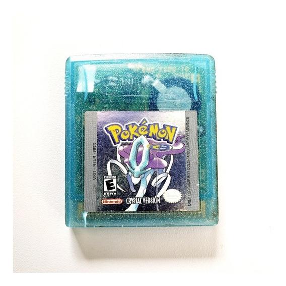 Pokemon Crystal Original Game Boy Gameboy