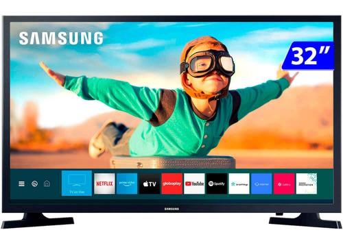 Imagem 1 de 5 de Smart Tv Samsung 32 Polegadas Led Tizen Wifi Hd
