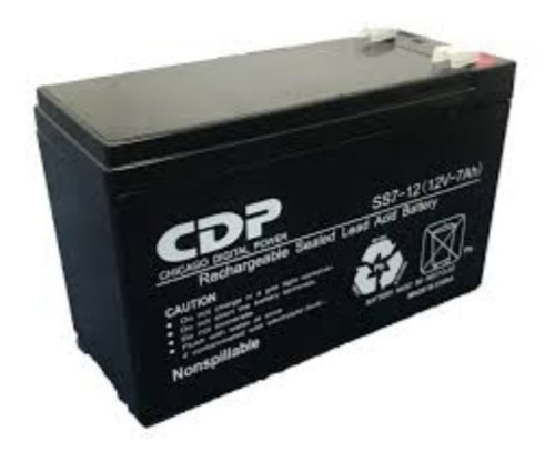 Batería 12v 7amp (15)usdd