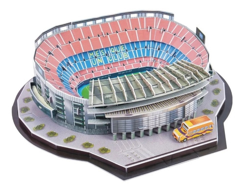 Rompecabezas Estadio 3d Camp Nou Barcelona Pasatiempo Colecc