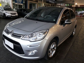 Citroen C3 1.5 Exclusive 8v Flex 2016 Prata