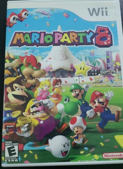 Jogo Mario Party 8 E 9 Para Wii Original