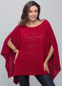 Kimono / Ruana Elab. En Hilo / Talla S, M, L, Xl / Envío Gra