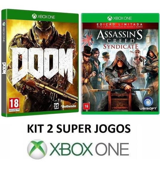 A. C. Syndicate + Doom - Midia Fisica Lacrado - Xbox One