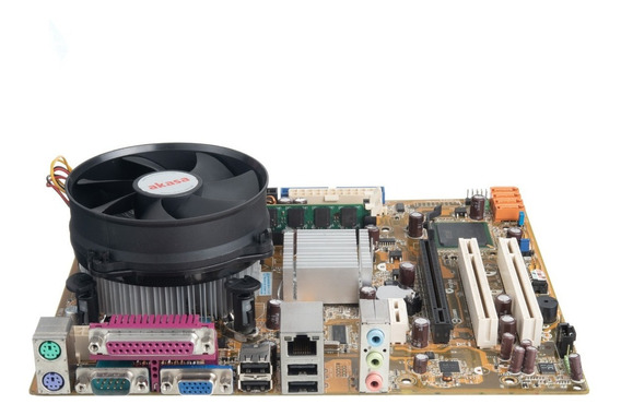 Kit Placa Mãe Asus Ipm31 + Intel Core 2 Duo + 2gb + Cooler
