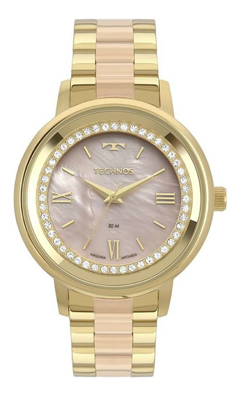 Relógio Technos Feminino Dourado 2036mky5j