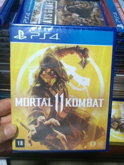 Mortal Kombat 11 Ps4 Lacrado Midia Fisica
