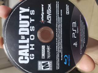Call Of Duty Ghosts Ps3 Fisico Excelente Estado