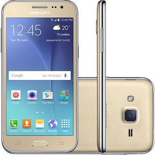Samsung J2 Prime Dourado 8gb Dual Sim