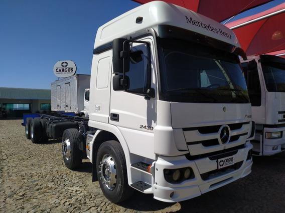 Atego 2430 2014 Bi-truck (completo)