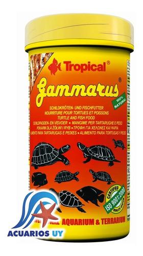 Alimento Tortugas Acuáticas. Tropical Gammarus 120g