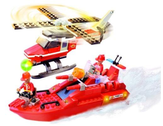 Brinquedos Educativos 201 Peças Tipo Lego Promoção Tanque