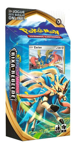 Card Game Pokémon Tcg Starter Deck Rixa Rebelde Zacian