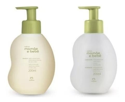 Shampoo E Condicionador Mamae Bebe Nova Formula 100% Vegana