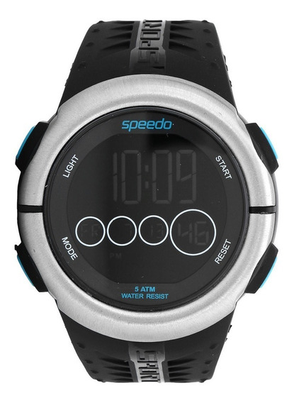 Relógio Speedo Masculino Esportivo Digital 81144g0evnp2