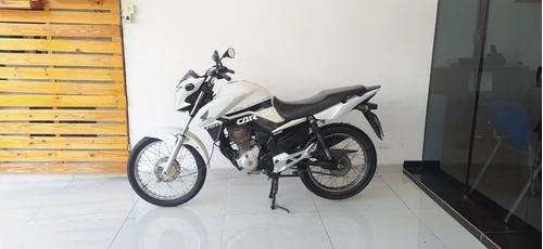 Imagem 1 de 7 de Honda Cg 160 Cargo Branca 2019 Tebi Motos
