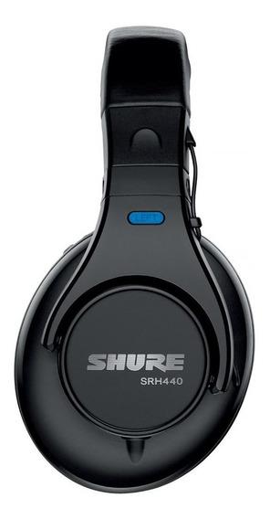 Fone De Ouvido Para Estúdio E Dj Shure Srh-440