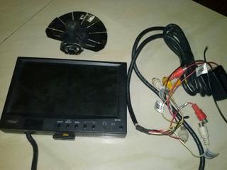 18 ...pantalla Dvd Boss 7 Plg Usada Con Sus Cable