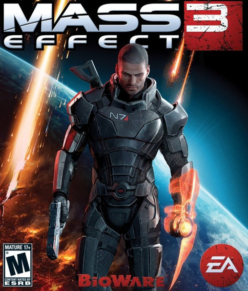 Jogo Mass Effect 3 Para Pc Midia Fisica