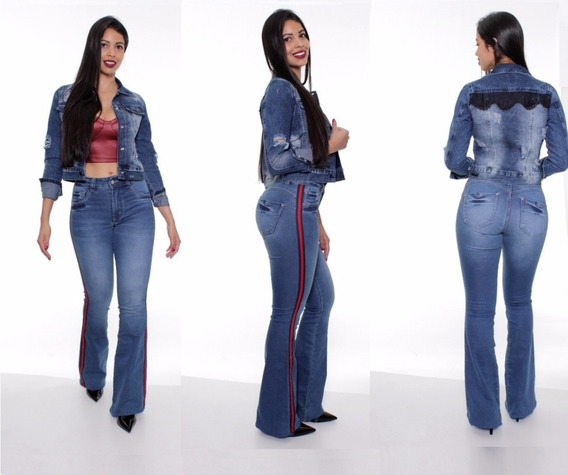 Calça Feminina Jeans Biotipo Flare 22953