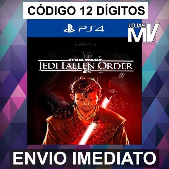 Star Wars Jedi Fallen Order Ps4 Código 12 Dígitos
