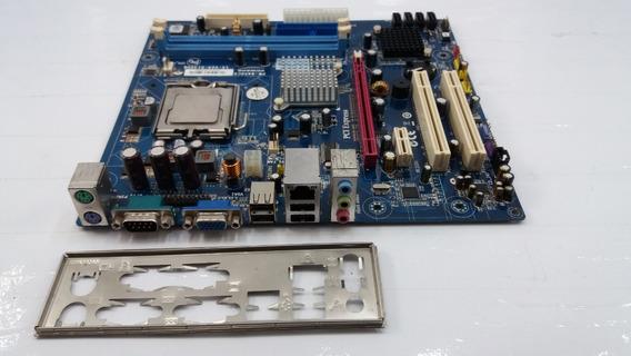 Placa Mãe Pcware Pw-945gcx Ddr2 Pci-e + Dual-core 2,6ghz 775