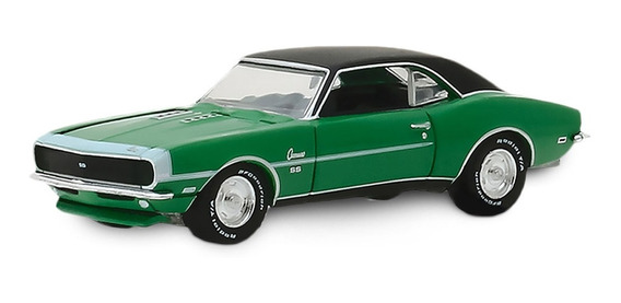 Greenlight Ice Turtle Wax 1968 Chevrolet Camaro Rs/ss 1:64