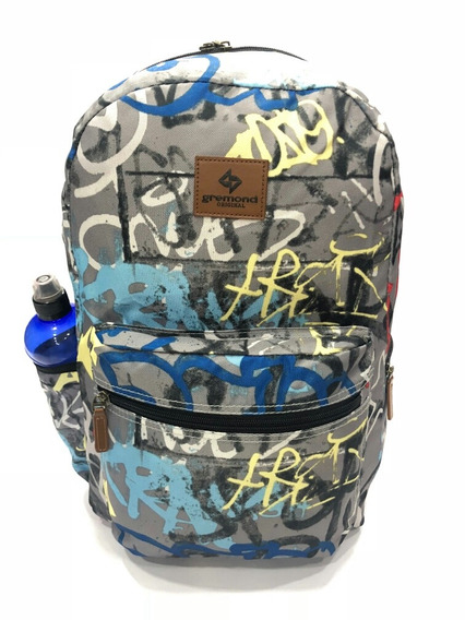 Mochila Gremond Estampada Airon Local Munro