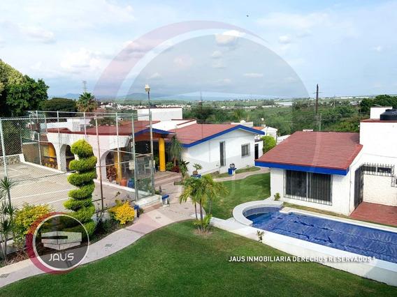 Grande Casa En Venta De 10 Recamaras En Lomas De Cocoyoc