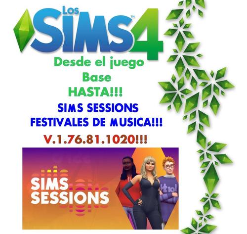 Imagen 1 de 9 de Los Sims 4 Juego Completo Hasta V.1.76.81.1020 Sims Session
