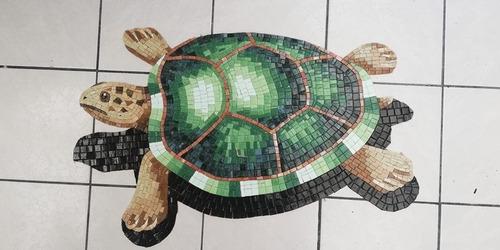 Imagen 1 de 3 de Mosaico Figura Tortuga Para Alberca De 60 Cms.