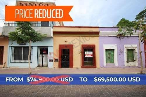 Encantadora Casa De 1 Piso En Centro Historico - Benito Juárez 1129