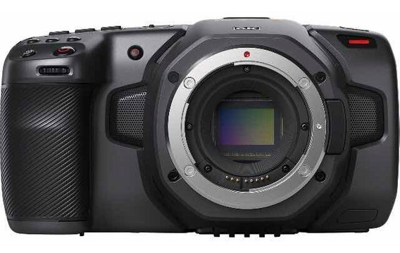 Blackmagic Pocket Camera 6k -vista 13700 Grátis 1 Bateria