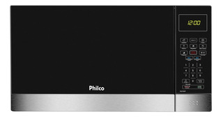 Microondas Philco 26l Pmo26ip Com Menu Fit Preto 220v